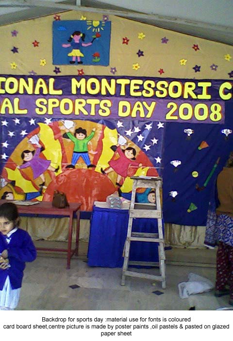 backdrop for sports day aneepatel
