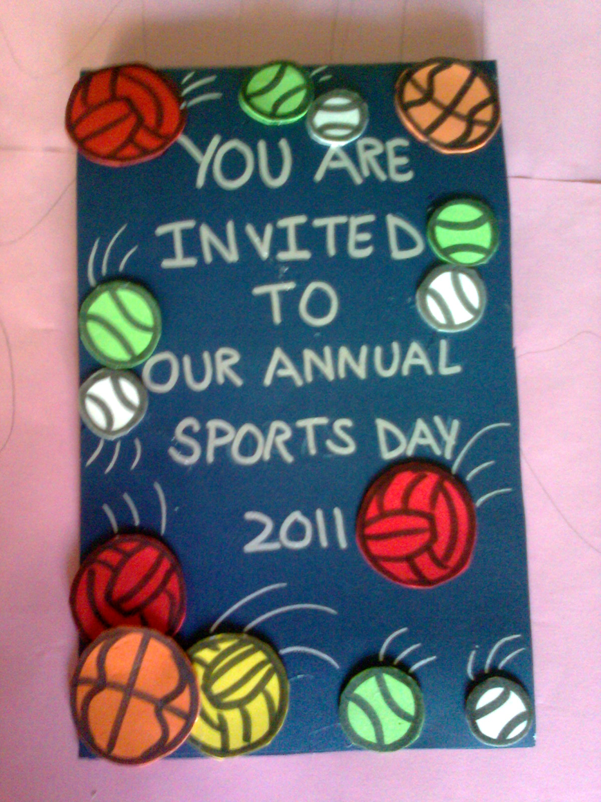 Invitation card for sports day aneepatel invitation card for sports day stopboris Images